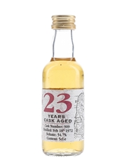 Largiemeanoch 1972 Cask Strength 23 Year Old The Whisky Connoisseur 5cl / 54.7%