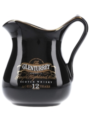Glenturret 12 Year Old Ceramic Water Jug  16cm x 17cm x 11.5cm