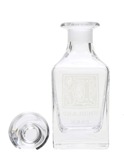 Highland Park Crystal Decanter  14.5cm x 5.5cm