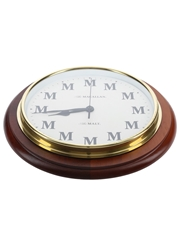 Macallan Clock The Malt 33.5cm x 4cm