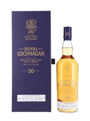 Royal Lochnagar 1988 30 Year Old - Bottle Number 1