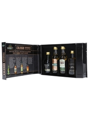 Kilbeggan Irish Whiskey Collection Connemara, Kilbeggan & Tyrconnell 4 x 5cl / 40%
