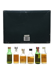 Classic Malts Of Scotland Miniatures Set Talisker, Oban, Glenkinchie, Dalwhinnie, Lagavulin (White Horse), Cragganmore 6 x 5cl