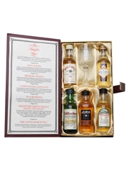 The Singles Bar Miniature Selection Bottled 1990s & 2010s - Invergordon Distillers 5 x 5cl