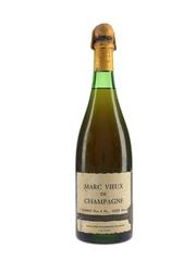 Bonnet Marc Vieux De Champagne Bottled 1960s-1970s 78cl / 43%