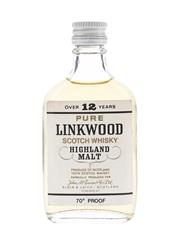 Linkwood 12 Year Old Bottled 1970s 5cl / 40%