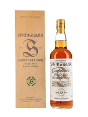 Springbank 25 Year Old