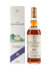 Macallan 1967 18 Year Old