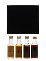 Cadenhead's Whisky Shop Miniatures Benriach, Glen Garioch, Glen Moray, Inchgower 4 x 5cl