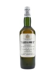 Black & White Spring Cap Bottled 1960s 75.7cl / 40%