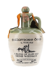 Tullamore Dew 12 Year Old Bottled 1960s-1970s - Ceramic Decanter 75cl / 40%