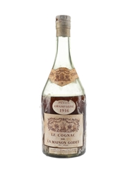 Godet 1916 Petite Champagne Cognac Imported By Lebegue & Co, London 70cl / 40%