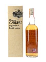 Cardhu 12 Year Old Bottled 1970s - Wax & Vitale 75cl / 43%