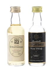 Strathbeg 17-20 & Turnbull's Teviotdale  5cl & 5.68cl / 40%