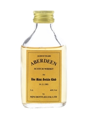 Aberdeen 8 Year Old Bottled 1980s - The Mini Bottle Club 5cl / 40%