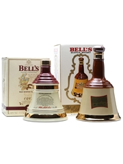 2 x Bell's Decanters 70cl & 75cl