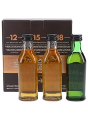Glenfiddich Single Malt Scotch Whisky Collection 12, 15 & 18 Year Old 3 x 5cl / 40%