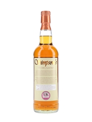 Glenrothes 30 Year Old Simpson's & The Edrington Group 70cl / 40%