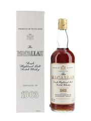 Macallan 1963 Bottled 1980s 75.7cl / 43%