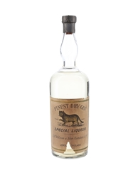 A R Wilson Finest Dry Gin Bottled 1940s-1950s 75cl