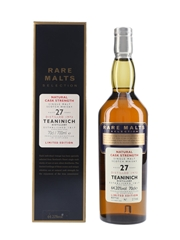 Teaninich 1972 27 Year Old Bottled 2000 - Rare Malts Selection 70cl / 64.2%