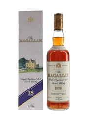 Macallan 1976 18 Year Old