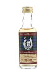 Macallan 10 Year Old Scottish Regiments Bottled 2002 - The Gordon Highlanders 5cl / 40%