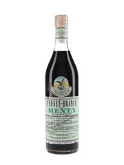 Fernet Branca Alla Menta Bottled 1960s 75cl / 40%