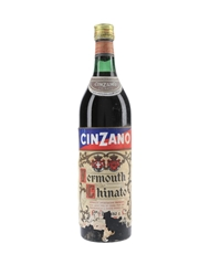 Cinzano Vermouth Chinato Bottled 1960s 100cl