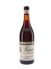 Borgogno Barolo Riserva 1970