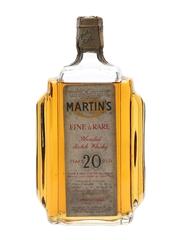Martin's Fine & Rare 20 Years Old