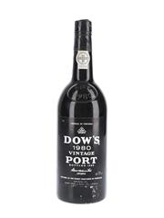 Dow's 1980 Vintage Port