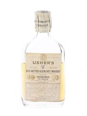 Usher's Old Vatted Glenlivet Bottled 1950s 5cl / 40%