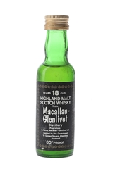 Macallan Glenlivet 18 Year Old Bottled 1970s - Cadenhead's 5cl / 46%