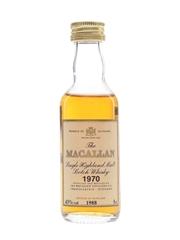 Macallan 1970 Bottled 1988 5cl / 43%