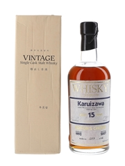 Karuizawa 1992 Cask #3434 15 Year Old - Whisky Magazine Editor's Choice 70cl / 60.6%