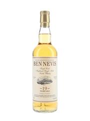 Ben Nevis 1996 19 Year Old Cask 1424 Bottled 2016 - Private Cask Bottling 70cl / 51.8%