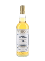 Imperial 1998 10 Year Old Bottled 2009 - Whisky Magazine Editor's Choice 70cl / 53.6%