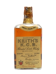 Keith's K.C.B. 12 Year Old Bottled 1940s 75cl