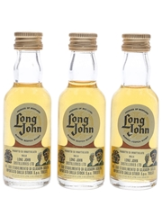 Long John Bottled 1970s - Stock 3 x 3cl / 40%