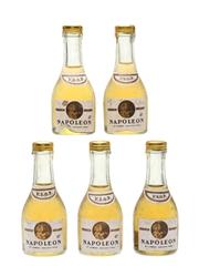 Lansac Napoleon VSOP Bottled 1970s 5 x 3cl / 40%