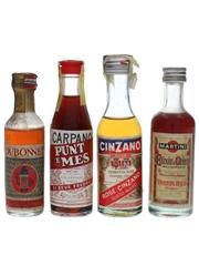Carpano, Cinzano, Dubonnet & Martini