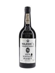 Warre's 1970 Vintage Port