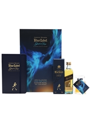 Johnnie Walker Blue Label & Ghost And Rare