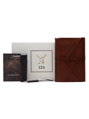 Glenfiddich 125th Anniversary Leather Notepad & Pen