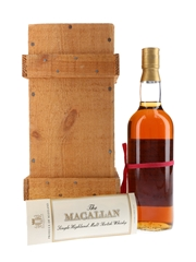 Macallan 1940 Handwritten Label Bottled 1981 - Corade 75cl / 43%