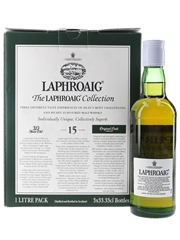 Laphroaig Collection Laphroaig 10 Year Old Straight From The Wood - Bottled 1990s 33.33cl / 57.3%