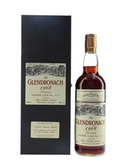 Glendronach 1968 Sherry Cask No. 2628 Presented to Andrew Dewar-Durie By Allied Distillers 75cl / 49%
