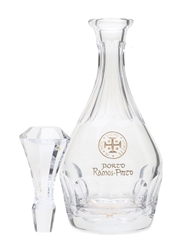 Ramos Pinto Porto Crystal Decanter With Stopper