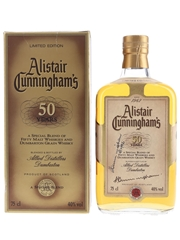 Alistair Cunningham's 50 Years Bottled 1990s - Allied Distillers Dumbarton 75cl / 40%